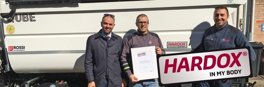 Certificazione Hardox Rossi